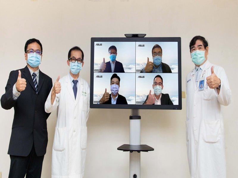 華碩、中山附醫推智慧健康管理APP AI推薦看診科別、預約慢箋取藥。(廠商提供)