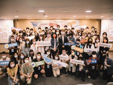 鴻海獎學鯨得主交流成長營為得主賦能 劉揚偉現身分享創業經驗