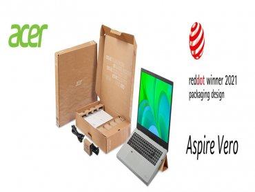 宏碁Vero環保包裝及PLANET9電競平台獲紅點設計大獎