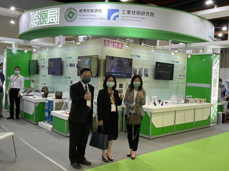 TIE台灣創新技術博覽會 工研院TOPCon太陽能電池翻轉零碳電力產業。(工研院提供)