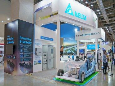 台達互聯生智園區於E-Mobility展覽吸睛登場 打造創新節能的智慧移動新未來